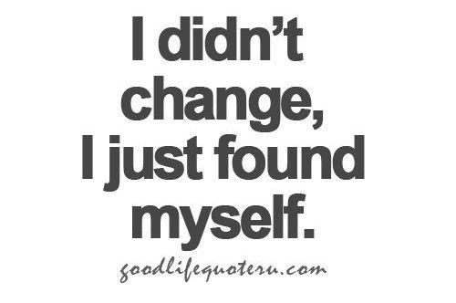I didn't change