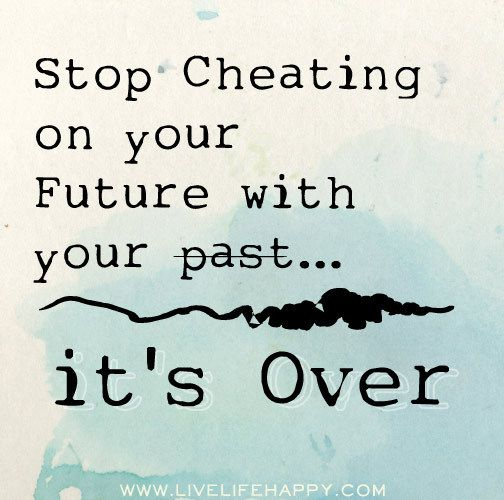 your past is over