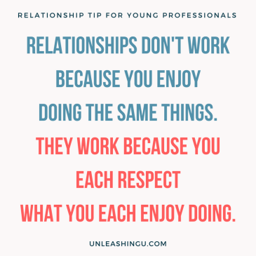 The Real Reason Relationships Work: A Tip for Young Professionals