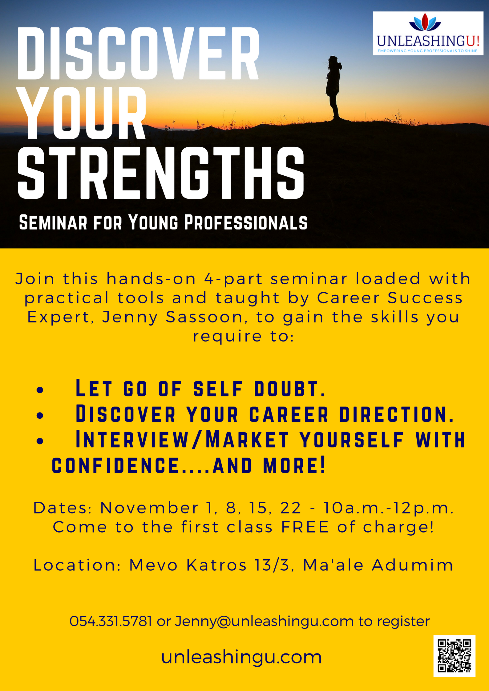 discover your strengths nov 2017 flyer