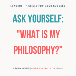 What is your guiding philosophy of how you live, how you work, and how you love??